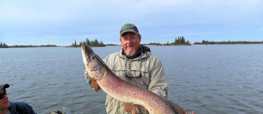 Pike Fishing Yellowknife Northwest Territories